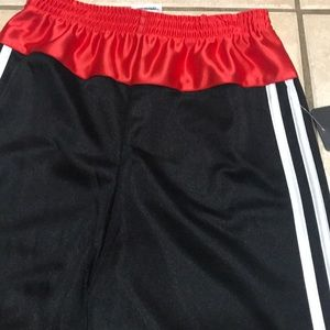 decdcb151 adidas Bottoms | New Boys Kids Black Red Shorts Size 7 X | Poshmark